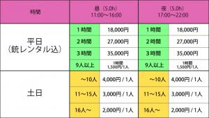 大阪ニュー貸切3F
